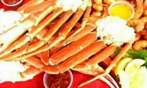 King Crab Legs at Tim's Lake Anna