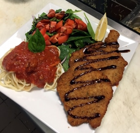 Vito's on the Lake Veal Milanese